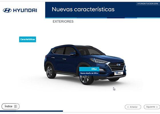 desarrollo elearning para Hyundai
