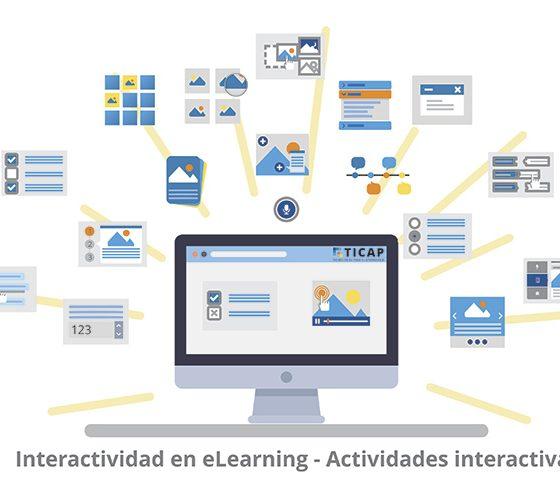 interactividad en cursos elearning